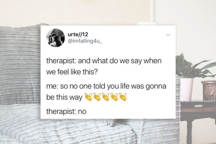 18 Relatable Posts for People in Therapy