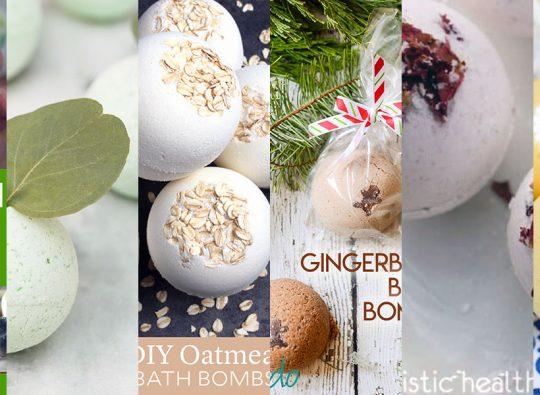 6 Homemade Bath Bomb Recipes to Try