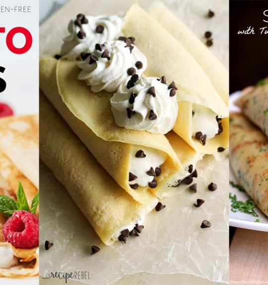 8 Sweet & Savory Crepe Recipes for Any Time of Day