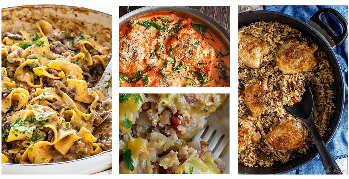 8 Time-Saving One Pot Dinners