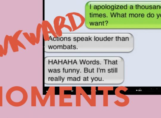 National Awkward Moments Day