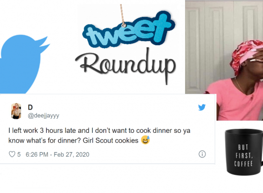 Tweet Roundup | This Week's Funniest Tweets for People Who Don't Feel Like Cooking
