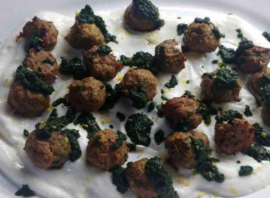 Catastrophe Kitchen | Lamb Amazeballs