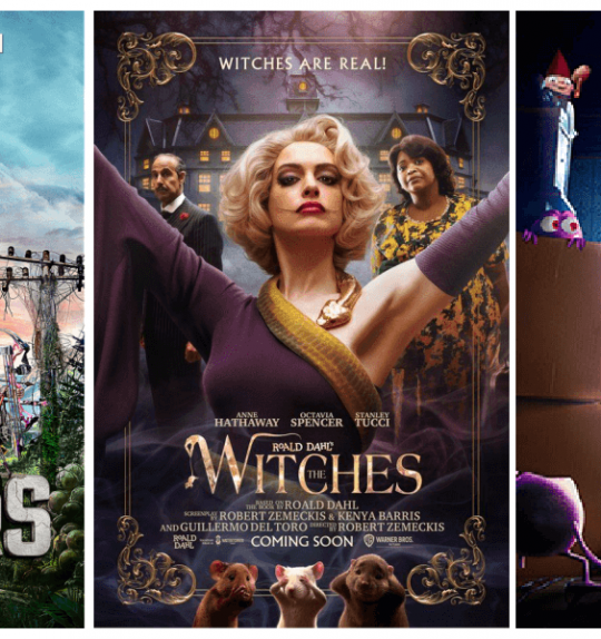 Spooky Shows and Movies to Stream with Your Family