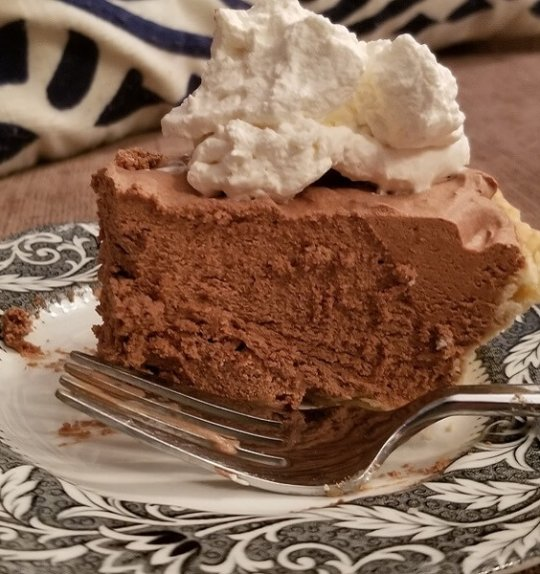 Eats & Drinks | National Pi Day – French Silk Pie & Stabilized Whipped Cream
