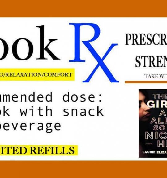 "Book Rx: Your Monthly Reading Prescription | ""The Girls Are All So Nice Here"" by Laurie Elizabeth Flynn"